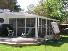 Patio Mate Screen Enclosure Roof by Add A Room With Insulated Lodge Deck Screen Room Ideas