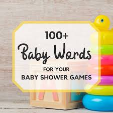 Idea For Baby Shower Games