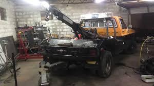 100 Tow Truck Kansas City Project Rust Repair Part 1 Trailer