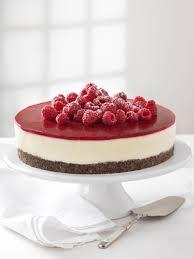 mohn topfen torte mit himbeeren kuchen und torten kuchen