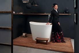 Immersion Water Heater For Bathtub by Aquatica True Ofuro Tranquility Heated Japanese Bathtub 230v 50