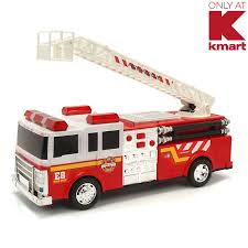 Just Kidz Battery Operated Fire Truck | Shop Your Way: Online ...