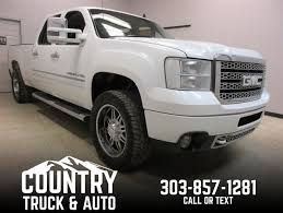 Used Cars For Sale Fort Lupton CO 80621 Country Truck & Auto 2016 Gmc Sierra 1500 Denali 62l V8 4x4 Test Review Car And Driver Used 2013 2500 Diesel 66l For Sale In Blainville 3500 Sale Nashville Tn Stock Pressroom United States Images 2014 4wd Crew Cab Longterm Verdict Motor Trend Price Ut Salt Lake City Terrain Flagstaff Az Pheonix 160402 Carroll Ia 51401 Unveils Autosavant Supercharged Sherwood Park 201415 201315 Review Notes Autoweek