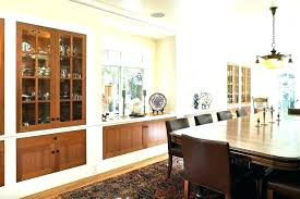 Dining Room Built In Cabinets Hutch