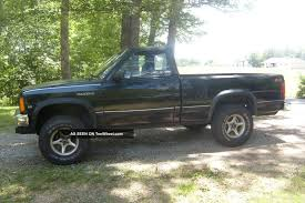 1989 Dodge Dakota Sport Convertible Pickup