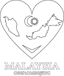 Merdeka Coloring Pages For Kids