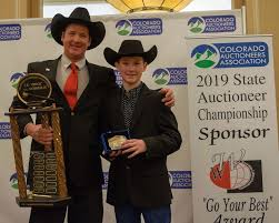 100 Bill Hall Jr Trucking Flagler Auctioneer Crowned As 2019 Colorado State Auctioneer