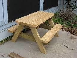 plans kids picnic table plans diy free download wooden arbor