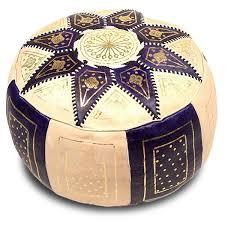 deco salon marron beige 14 pouf marocain poufs marocains en