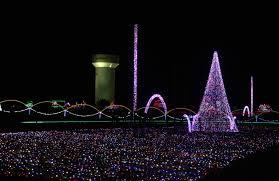 Christmas Lights Lowes Motor Speedway