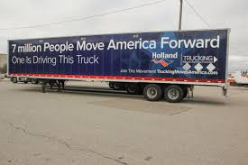 Holland Supports Trucking Moves America Forward With 20 Trailer ... Yrc Freight Selected As Nasstracs National Ltl Carrier Of The Year Yellow Worldwide Wikipedia Management Customers Mhattan Associates Trucking Jobs Youtube Truck Trailer Transport Express Logistic Diesel Mack Earnings Topics Companies Scramble To Reroute Goods In Wake Harvey Wsj About Transportation Service Provider Hood River Or Trucks Pinterest Hoods Or And Rivers Yrc Freight