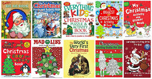 Christmas Coloring Activity Books For Kids