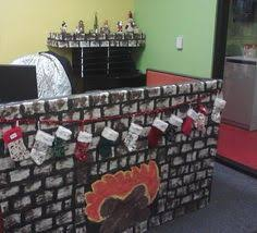 our office christmas decorations work ideas pinterest