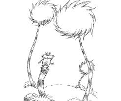Dr Seuss Printable Colouring Pages Coloring Green Eggs And Ham Lorax
