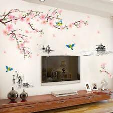 wandtattoo wandsticker wandaufkleber wohnzimmer baum zweig