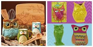 4 Great OWL Sales Home Decor Kitchen Items Jewelry More Up To