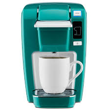 K15 Classic Single Serve Coffee Maker True Blue Mint Green