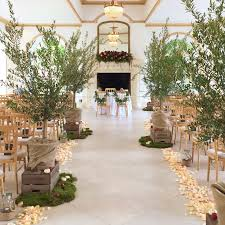 Stunning Autumn Wedding Aisle The Vine Room Northbrook Park Floral Design Created By