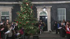 Are Christmas Trees Poisonous To Dogs Uk by Theresa May Turns On Downing Street Christmas Tree Lights