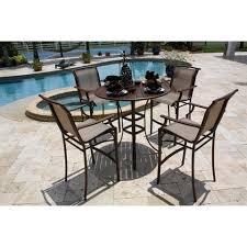 patio dining sets bar height minimalist pixelmari com