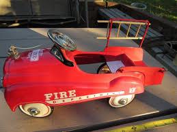 100 Antique Fire Truck Pedal Car Rare Vintage Classic Midget Model