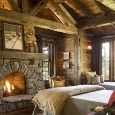 Rustic Master Bedroom Photo