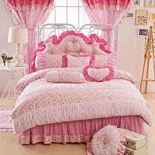 fadfay home textil pink design spitze und