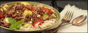 Ground Beef With Tomatoes And Zucchini