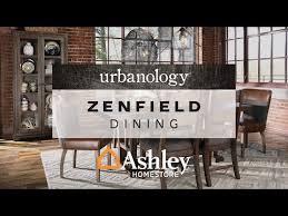 Ashley North Shore Formal 7 Pc Dining Set In Dark Brown