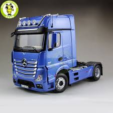 100 Mercedes Benz Truck Models 118 NZG Actros GigaSpace FH25 Trailer Diecast