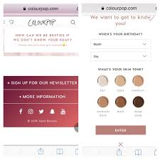 PSA - ColourPop Account Asking For Birthday & Skin Tone And ... Colourpop Cosmetics On Twitter Black Friday Sale Starting Borrow Lens Coupon 2018 Goibo Bus Coupons 25 Off Colourpop Code 2017 Coupon 1 Promo Code 20 Something W Affiliate Discount 449 Best Codes Coupons Images In 2019 The Detox Market Canada Coupon November Up To 40 Rainbow Makeup Collection Discount 80s Tees Free Shipping Play Asia For Woc Juvias Place 45 Sale Romwe June Dax Deals 2 15 Off Make Up Products Spree Sephora Canada Promo Code Mygift Restocked 51 Free
