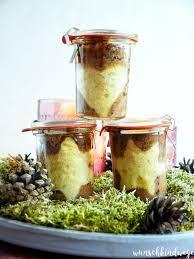 weihnachtlicher kuchen im glas wunschkindwege
