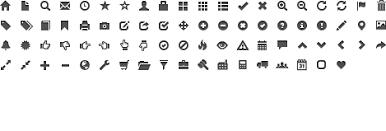 ricardo icons gray