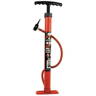 Custom Accessories Hand Pump - 60PSI, Red