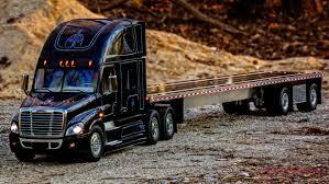 100 Rc Semi Trucks And Trailers Custom Aluminum Flatbed For Tamiya Realistic