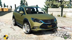 GTA 5 Crash test BYD Tang 2015