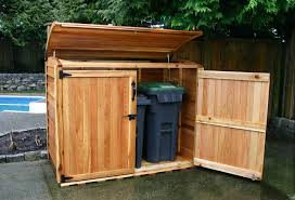 epic trash storage shed 65 on build your own storage shed plans