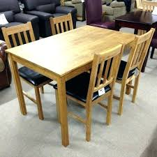 Set Of 4 Dining Room Chairs Square For Impressive Decoration Table And