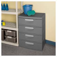sterilite 4 drawer garage and utility storage unit gray target