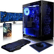 pc de bureau gaming vibox nebula rsr530 106 pack pc gamer 3 4ghz cpu amd