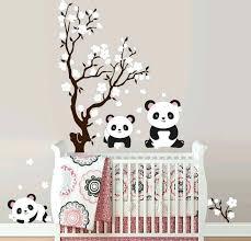 stickers pour chambre ado stickers muraux en 55 photos pour personnaliser les murs panda
