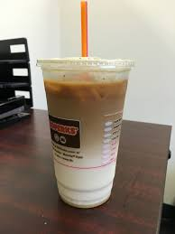 Dunkin Donuts Pumpkin Syrup Nutrition Facts by Dunkin Donuts Iced Snickerdoodle Macchiato Review Fast Food Geek