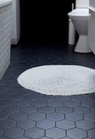 handsome black bathroom floor tiles 65 on home design ideas for