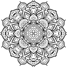 Beautiful Patterns Designs Mandala Coloring Book