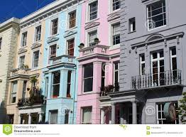 100 Notting Hill Houses Houses Stock Image Image Of Color Britain 119750647