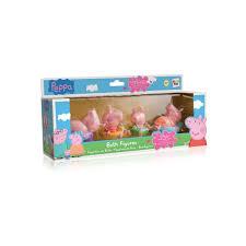 figuren für das badezimmer peppa pig imc juguetesland