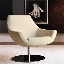 100 Contemporary Armchair Armchair Fabric Leather Steel POD Dsire Divani