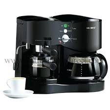 Espresso And Coffee Maker
