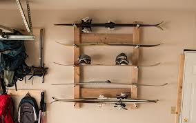 diy how to build a ski and snowboard rack rei co op journal