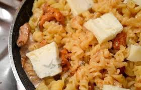recette gorgonzola pâtes girolles et pur délice madmoizelle
